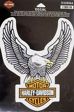 Genuine Harley Davidson Large Eagle Bar & Shield Decal Sticker D328064