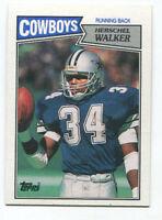 1987 Herschel Walker Topps Rookie #264