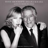 TONY & KRALL,DIANA BENNETT - LOVE IS HERE TO STAY   CD NEW!
