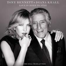 TONY & KRALL,DIANA BENNETT - LOVE IS HERE TO STAY   CD NEUF