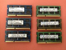 8GB  (2 x 4GB) 204-Pin SO-DIMM DDR3 1333MHZ (PC3 10600) Laptop Memory:TESTED