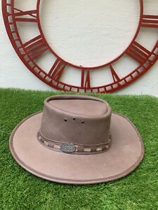 The Original Rogue Handcrafted Brown Leather Cowboy Hat