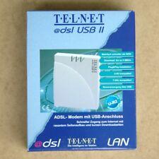 TELNET @dsl-USB II Modem G.992.1 (G.dmt ANNEX B) U-R2 T-DSL