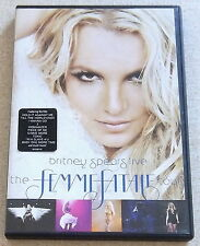 BRITNEY SPEARS The Femme Fatale Tour DVD SOUTH AFRICA Cat# DVZOM2187