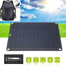 Portable 5V 5W Solar Panel Charger Pack Travel Double USB Power Bank for Phone