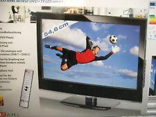 "Terris LED TV 2222 TV-DVD 54,6cm / 21,5"" USB HD Fernseher DualTuner LCD NEU"