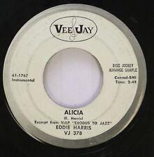 Jazz 45 Eddie Harris - Alicia / Exodus On Vee&Jay