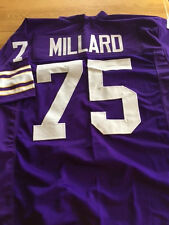 Vikings Keith Millard custom unsigned jersey