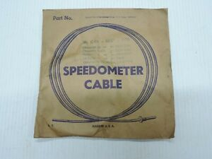 NORS Speedometer Cable 1939 1940 Chevrolet Hudson Oldsmobile 1938 LaSalle