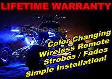 Limited ATV 4x4 Quad 4Wheeler 6pc Led Underglow Body Light Kit Keychain Remote