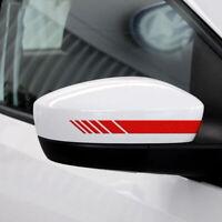 Sportstreifen Aufkleber Sticker Motorsport Racing Außenspiegel Rennstreifen Auto