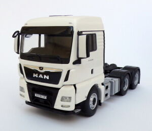WSI Models 1/50 Scale 03-2025 - MAN TGX XLX Euro 6C (Facelift) 6x4 - White