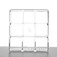 9 Slots Acrylic Cosmetic Organizer Makeup Box Nail Polish Display Holder Storage