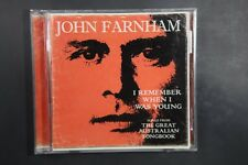 John Farnham – I Remember When I Was Young - Songs From The Great Austra (C315)