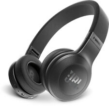 New JBL - Wireless On-Ear Headphones - Black - JBLE45BTBLK