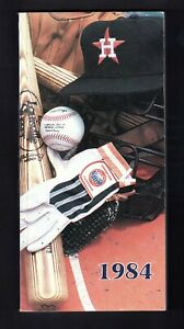1984 HOUSTON ASTROS MEDIA PRESS GUIDE  EX- MINT