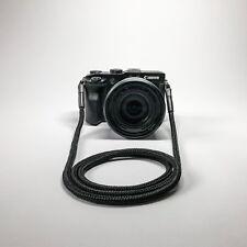 Trageseil Schultergurt schwarz 1,20m für alle Kamerahersteller und Typen