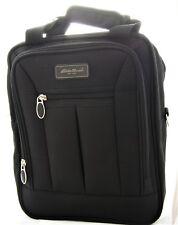 Eddie Bauer Carry-On Travel Bag Shoulder Strap & Toiletry Bag Black