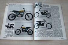 Motorrad 11374) Modellreport Puch MC 50 125 175 250 - die Modelle des Jahrgangs