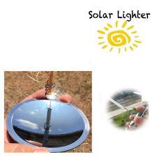 Survival Solar Lighter Fire Starter Outdoor Camping Hiking Emergency Equipment