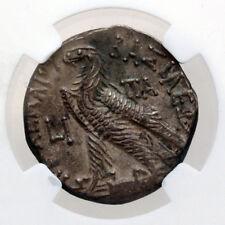 NGC GREEK COIN PTOLEMAIC KINGDOM PTOLEMY IX & CLEOPATRA SILVER TETRADRACHM
