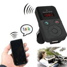 Wireless Fm Transmitter Lcd Stereo Car Kit Bluetooth Mp3 Player Sd Usb Mic Remot