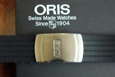 ORIS 22-20 DIVER'S PILOTS RACERS YACHT BLACK DEPLOYMENT CLASP & WATCH BAND STRAP