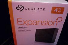 "Seagate Expansion 4TB USB 3.0 3.5"" External Hard Drive STEB4000100 Black -NEW"