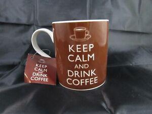KEEP CALM and DRINK COFFEE mug NEW!