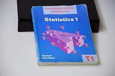 Heinemann Modular matemáticas para Londres como & un nivel 1 T1 estadísticas.