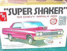 "AMT 1964 CHEVY IMPALA PLASTIC MODEL KIT SEALED IN BOX 1/25 ""SUPER SHAKER"""