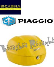 11050 PIAGGIO ORIGINAL BAULETTO TRASERO AMARILLO CELOS 974A VESPA 50 SPRINT