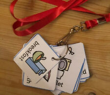 PECS - starter Lanyard~Communication~ SEN~Autism~Learning~Home