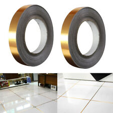 2Pcs Foil Tile Stickers Tape for Filling Wall Floor Setting Tiles Gap Line