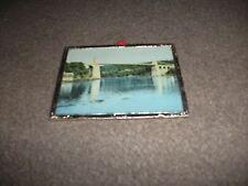 """Antico """"Hannahs Bijou"""" SILVER PLATED photo frame con stampa di sospensione Bridge"""