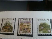 JERSEY 1986 SG 386-388 EUROPA.MNH