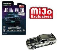 "Greenlight ""John Wick"" 1969 Ford Mustang Boss 429 Chrome Edition 1/64 51228"