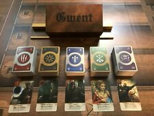 GWENT CARDS (5 DECKS) Witcher 3 COMPLETE SET with BOX!