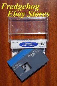 Sony DVM-4CLD Mini Videocamera Dv Testa Detergente Nastro/Cassette - Dry Gentle
