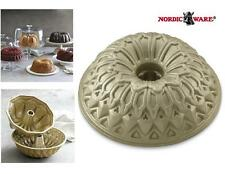 """Nordicware 10"""" STAINED GLASS Bundt Cake PAN *French Cathedral Rose Windows NEW"""