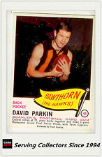 RARE FIND-1966 VFL Scanlens Card #46 David Parkin ( Hawthorn)-EXCELLENT