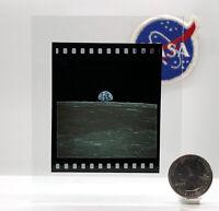 NASA 70mm KODAK E100 Film Positive Apollo 11 Earthrise Collins Aldrin Armstrong!