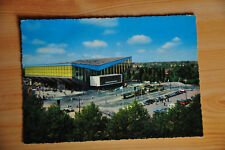 AK Essen Gruga Halle, bunt, gelaufen 1962,