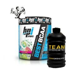 BPI Sports BCAA Amino Acids 30 Servings Offer due to expiry 06/20 With Free JUG!