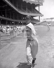1948 Ted Williams Boston Red Sox Yankee Stadium Baseball PHOTO BG35