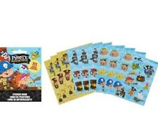 111 Pirate Stickers Party Favors Teacher Supply book 9 sheets treasure