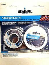 Bernzomatic Plumbing Solder Kit Plumbing Repair Solder Flux Lead Free Ssw400pk