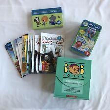Preschool Kindergarten Home School Lot Books Game Leap Frog I Can Read Bob Books