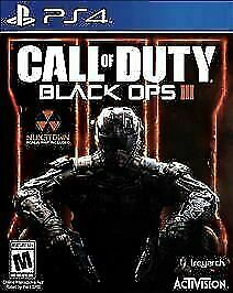 Call of Duty: Black Ops III (PlayStation 4,2015)