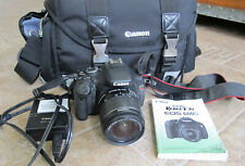 Canon EOS Rebel T3i Digital SLR Camera - Black EF-S 18-55mm Lens PLUS MORE